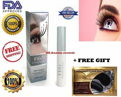 FEG EyeLash Enhancer Serum Rapid Growth 100% AUTHENTIC USA Fast Shipping + Gift