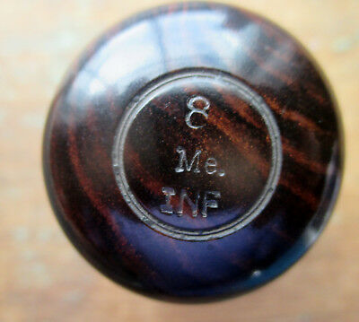 1860's Engraved Rosewood ink  8th Me INF  Very nice.