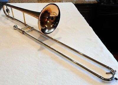 1990? Canandian Brass CB20 Professional Large Bore Trombone- Rose Brass Bell
