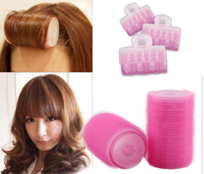 Hair Curler Roller 3PCS/Set Plastic Large Roller Home Use Hair Roller Hair Clips
