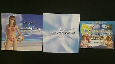 Dead or alive calendar set