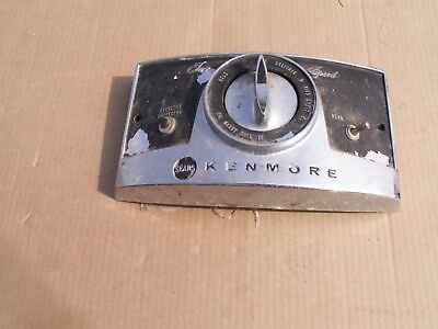 kenmore visi matic wringer washer chrome controls
