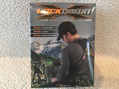 S4 Gear LockDownX Binocular Harness - Black Micro NEW