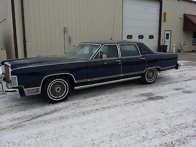 1979 Lincoln Continental Collector Series 1979 Lincoln Continental Collector Series 44k Original Miles