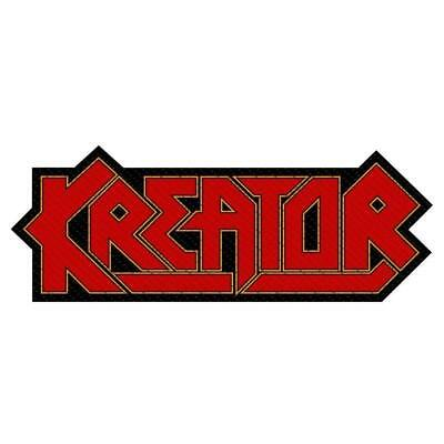 Official Licensed - Kreator - Cutout Logo Woven Sew-On Patch Thrash Metal