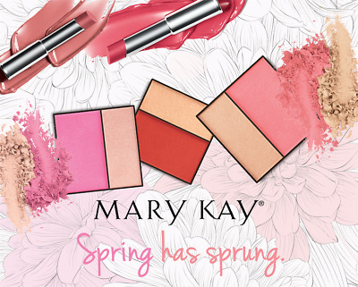MARY KAY MINERAL CHEEK COLOUR DUO  2 in 1 EYES & CHEEKS **BRAND NEW**