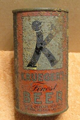 1930s Krueger's *BALDY* Finest Beer IRTP Long Opener OI FT Newark, New Jersey