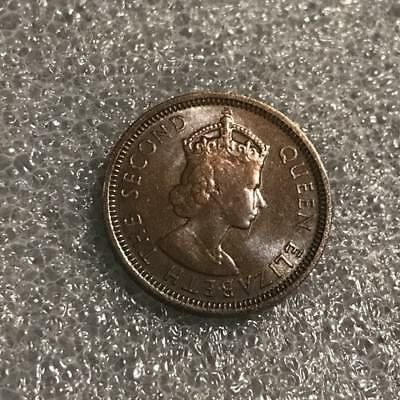 1954 1 Cent British Honduras  from a WHEATIES Mystery Coin Collection