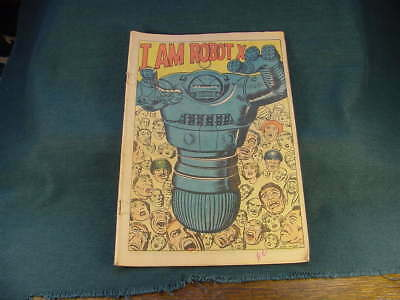 Vintage Marvel Atlas ? Jack Kirby & Ayers I Am Robot X Comic Book Doctor Droom