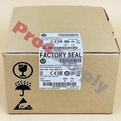 2017/2018 US Stock Allen-Bradley Flex EtherNet/IP Adaptor 1794-AENT 1794AENT