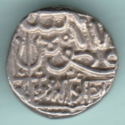 Kutch Bhuj State - Shree Pragji - One Kori - Extremely Rarest Silver Coin
