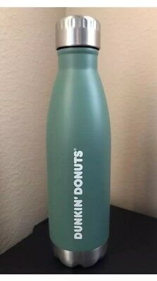 DUNKIN DONUTS 17-ozs sage stainless steel tumbler