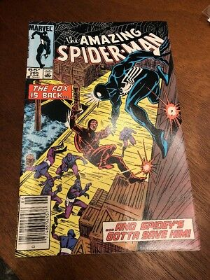 The Amazing Spider-Man #265 (Jun 1985, Marvel). 1st Appearance of Silver Sable.