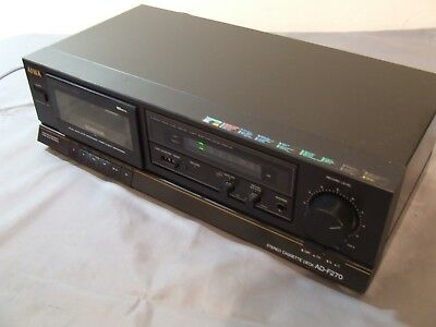 Aiwa Ad-F270 Tape Deck Vgd To Exc Cosmetics Working Cond  -Tape Player