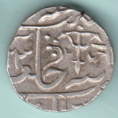 Gwalior State - One Rupee - Ex Rare Silver Coin