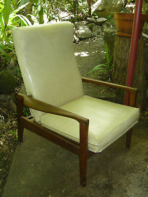 1960s Recliner Chair Retro Parker Chiswell Style Vintage Danish Mid Century Era
