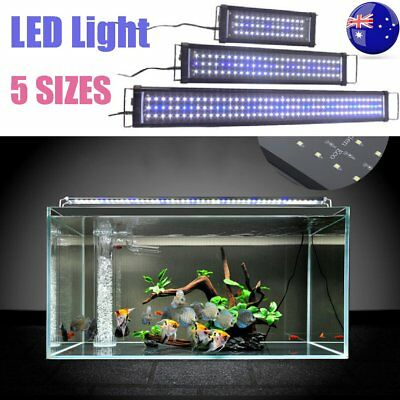 30-120CM Aquarium LED Lighting 1ft/2ft/3ft/4ft Marine Aqua Fish Tank Light SYD