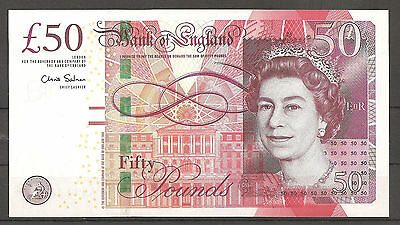 """Great-Britain""England""50-pounds""SUPERB GEM UNC""ND 2010-Banknote"""