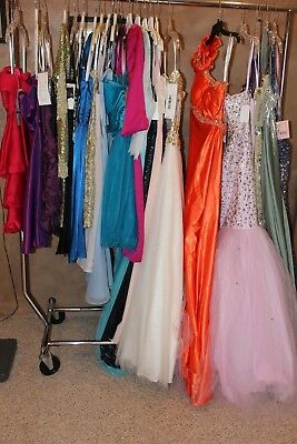 NWT LOT of 27 LONG PROM, pageant,short formal cocktail homecoming dresses