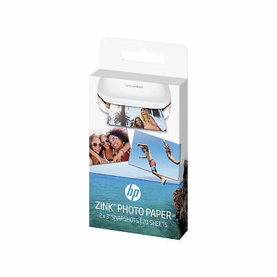 20x HP ZINK Sticky-Backed Photo Paper For Sprocket Printers