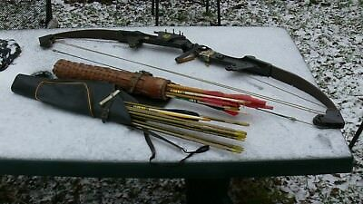 Bear Whitetail Hunter Compound Bow  Jagdbogen aus den USA Vintage