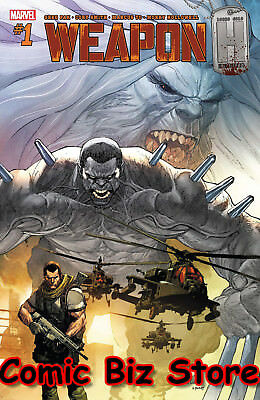 Weapon H #1 (2018) 1St Printing Bagged & Boarded Marvel Legacy Tie-In