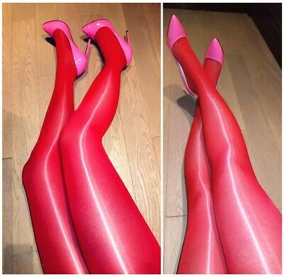 Plus Size Sexy High Quality Super Shiny Glossy Sheer Stockings Tights Pantyhose