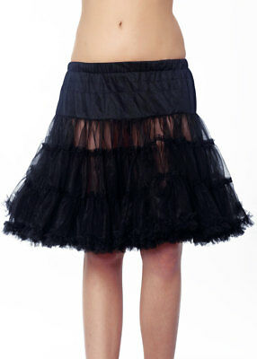 Traditional Costume Petticoat 50cm 450 Black