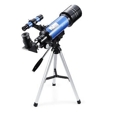 Portable 70mm Refractor Telescope - 400x70mm