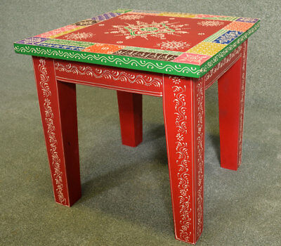 Indian Hand Painted Coffee Table