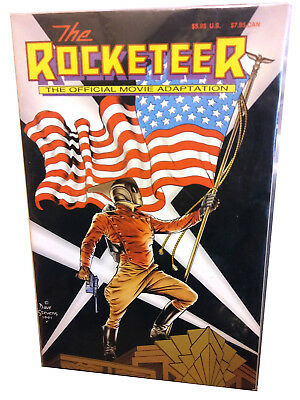 The Rocketeer: The Official Movie Adaptation (W.D. Publications, 1991)