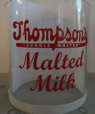 Malt Dispenser Model 20 - New Replacement Glass Only - Thompson's Label