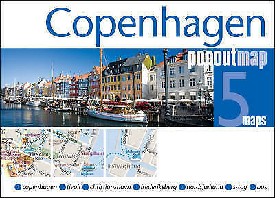 Copenhagen Popout Map - New - Current Edition - Pocket - Pop Out