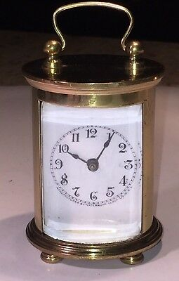 Vintage Waterbury Canister Carriage Clock