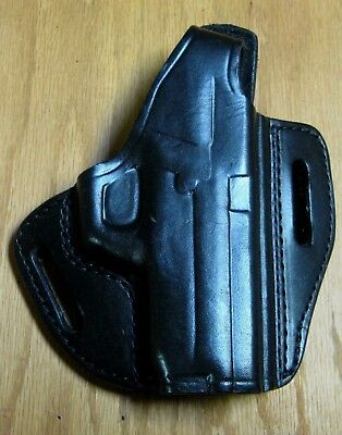 Gould & Goodrich Gold Line Rh Pancake Holster For Sig Sauer P250 Sub Compact