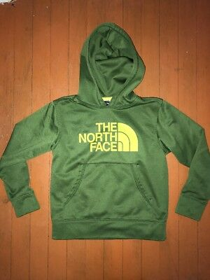 The North Face Logowear Hoodid Sweatshirt Youth Boys Size S 7/8