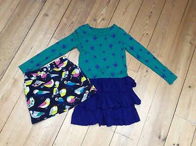 Mini Boden bundle 7-8 skirt and dress. Fabulous