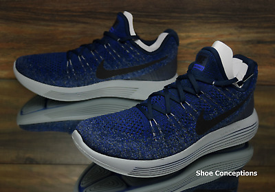 cb2dc71244fe Nike Lunarepic Low Flyknit 2 College Navy 863779-406 Running Shoes Mens  Multi Sz