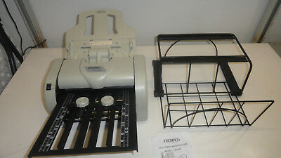 LF283 Techko Letter Paper Folder - Folding Machine with Stand