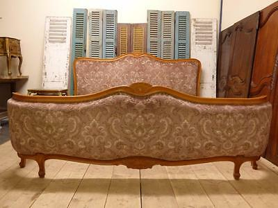 VERY RARE VINTAGE FRENCH SUPER KING SIZE / EMPEROR BED -  200cm x 196cm
