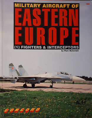 Military Aircraft of Eastern Europe (1) Fighters  Concord Publications No. 1028