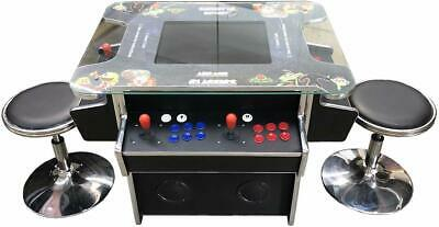 3 SIDE Arcade Cocktail  w 1162 Game in 1 Machine - FREE SHIPPING & STOOLS