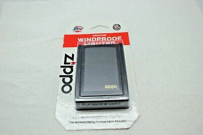 Zippo Black Matte Classic Windproof Lighter #218 New In Box Free Shipping
