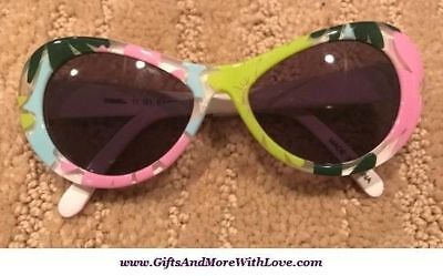 Gymboree NWT Multi-Color SUMMER SPRING FLOWER DRESS SUNGLASSES 0 1 2 Years