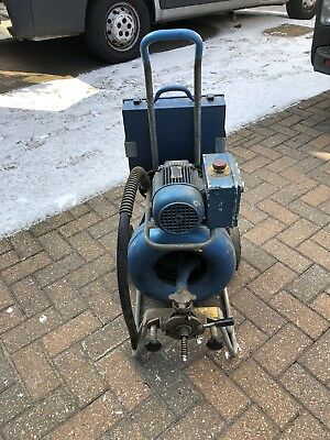 Drain Cleaning Machine With Accessories