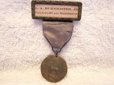 American Numismatic Association Convention Badge 1927 Named