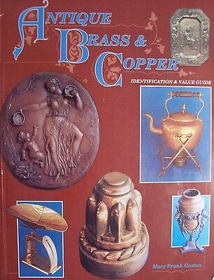 VINTAGE BRASS and COPPER $$$ id PRICE VALUE GUIDE COLLECTOR'S BOOK