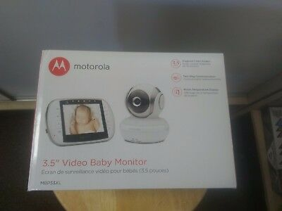Motorola MBP33XL 2.4 GHz FHSS Digital Video Baby Monitor with 3.5-Inch BRAND NEW