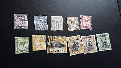 labuan stamps classics collection used a226