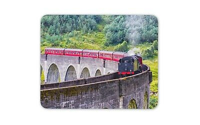 Awesome Train Mouse Mat Pad - Trains Bridge Viaduct Dad Gift PC Computer #8564